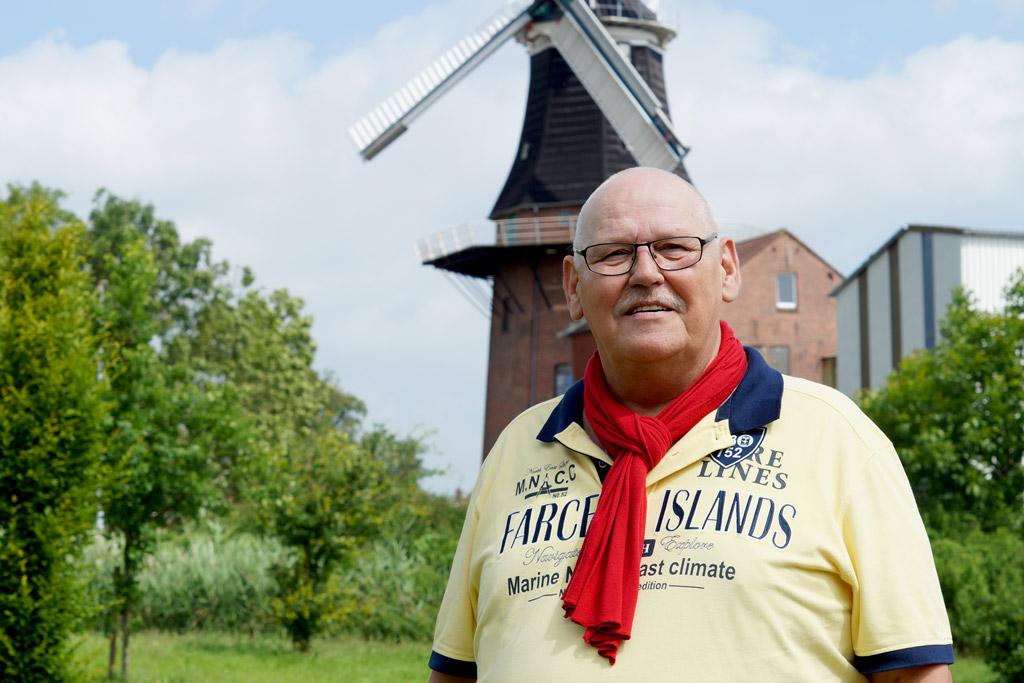 Portrait von Migräne Heilpraktiker Heino Nieland